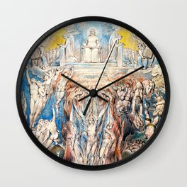 """William Blake """"The Day of Judgment"""" Wall Clock"""