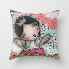 Fly Throw Pillow