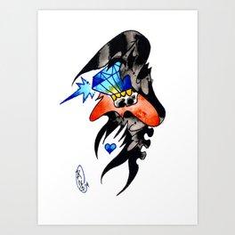 Gem Reaper Art Print