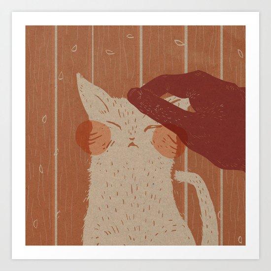 The Lives of a Cat Art Print