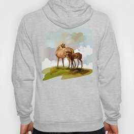 Thoroughbred Mare and Foal Hoody