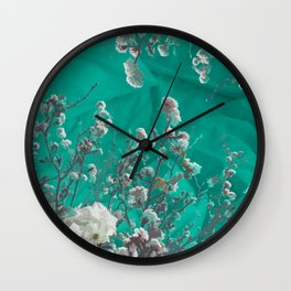 Spring sleep-in Wall Clock
