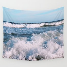 East End Waves Wall Tapestry