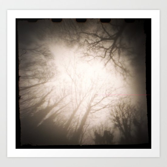 Treefingers Art Print