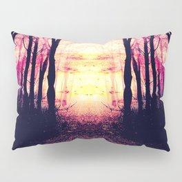 Path to Imagination : Mauve Pink Purple Pillow Sham