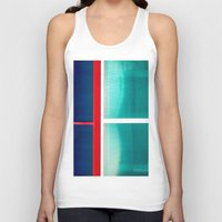 frames Tank Tops featuring FRAMES OF COLORS by Hidden Streets