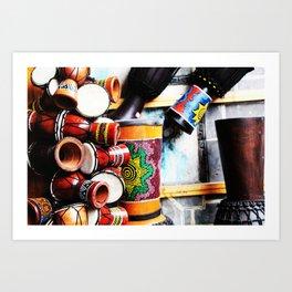 Musical Instrument Art Print