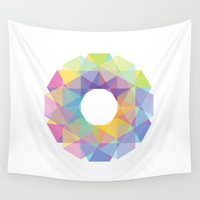 fig Wall Tapestries featuring Fig. 036 by Maps of Imaginary Places