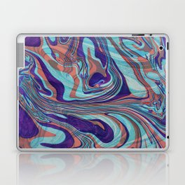 Colorful Abstract Marble Swirls Laptop & iPad Skin