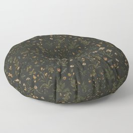 Old World Florals Floor Pillow