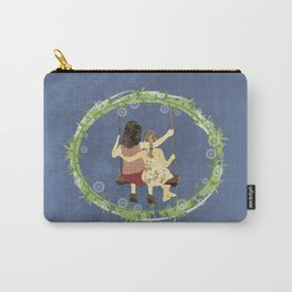 Sisters on swing Carry-All Pouch