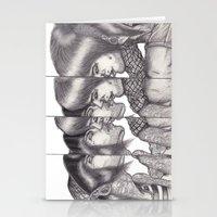 boys Stationery Cards featuring Boys Boys Boys by Emiliano del Toro