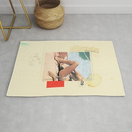 Social Bullshit | Collage Rug
