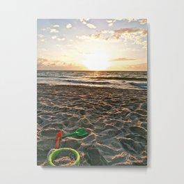Cloudy Morning In The Sunshine State (II) Metal Print