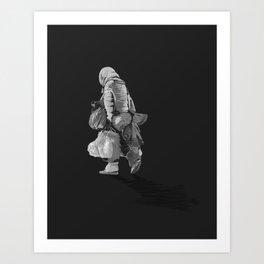 Never Arriving 2.0 Art Print