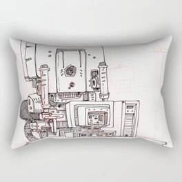 Deskjob Rectangular Pillow