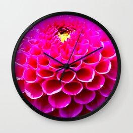 My Dahlia Life Wall Clock