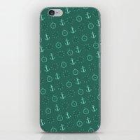 marine iPhone & iPod Skins featuring Marine by Jessie Serafim