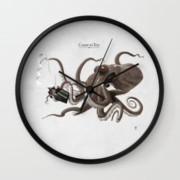 Count to Ten Wall Clock