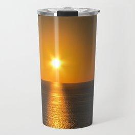 Caribbean Ocean Sunset Travel Mug