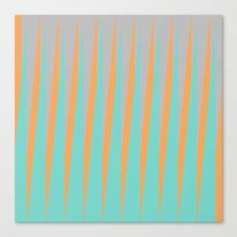 Sunlit Diagonal Slant Canvas Print