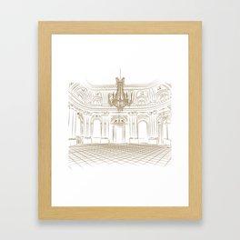 Royal Ballroom Framed Art Print
