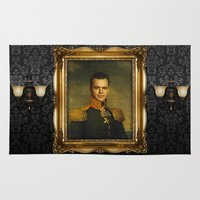 replaceface Area & Throw Rugs featuring Matt Damon - replaceface by replaceface