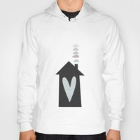 calendars Hoodies featuring Home, Love, Illustration, Heart,  by Shabby Studios Design & Illustrations ..