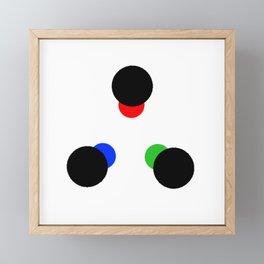 I See the World Framed Mini Art Print