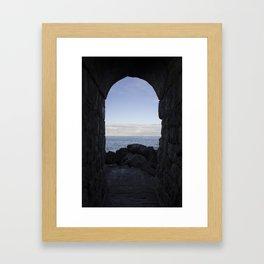 The Doorway Framed Art Print