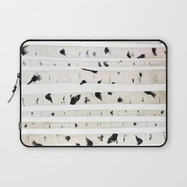 birch watercolor pattern 2018 Laptop Sleeve