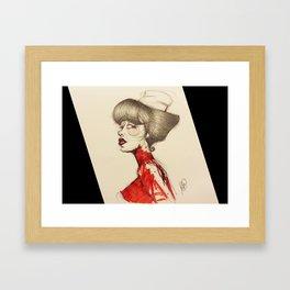 Nurse Paz Framed Art Print