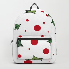 Christmas holly 1 Backpack