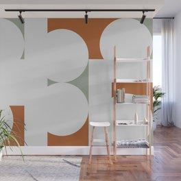 Contemporary 53 - Gray Brown Wall Mural