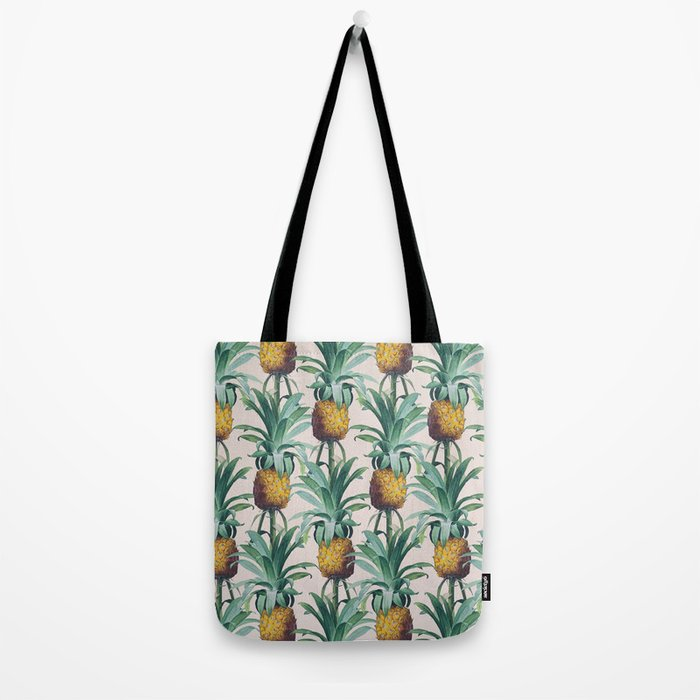 Pineapple Trellis Tote Bag