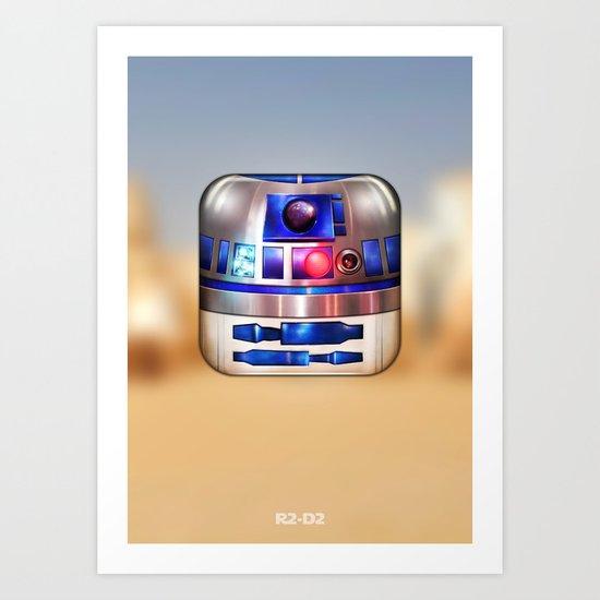 R2-D2 Art Print
