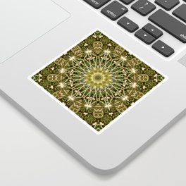 Geometric Forest Mandala Sticker