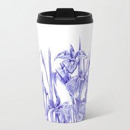 Iris Field Travel Mug