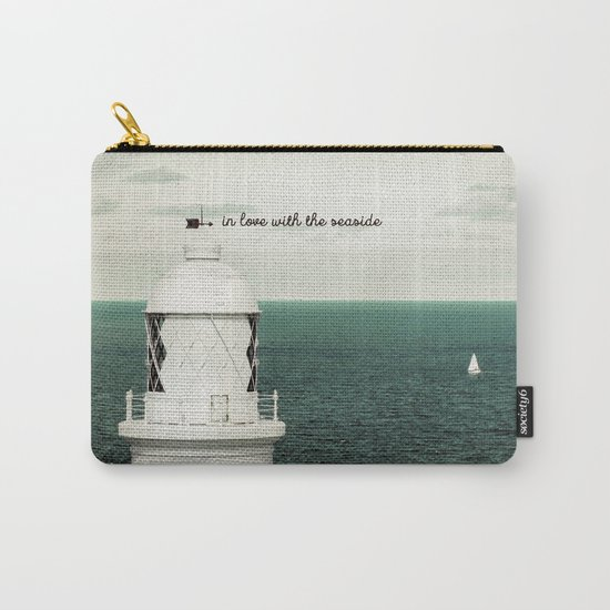 Seaside Lighthouse Carry-All Pouch