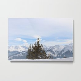 Wunderfull Snow Mountain(s) 4 Metal Print