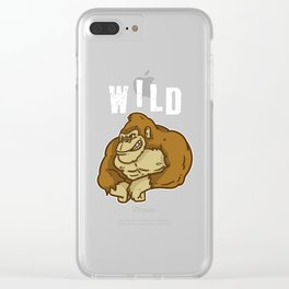 Wild, Animal, Forest Clear iPhone Case