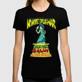 Cannabis March Rally - Statue of Liberty T-shirt