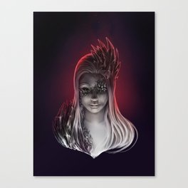 Crystal Contamination 2 Canvas Print