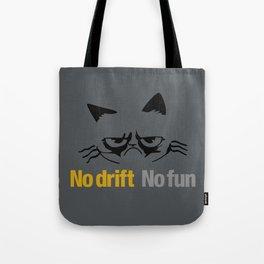 No drift No fun v1 HQvector Tote Bag