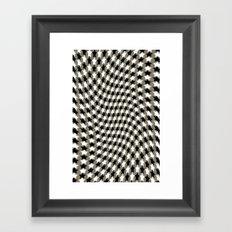 Flowing Stars Framed Art Print