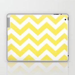 Maize - yellow color - Zigzag Chevron Pattern Laptop & iPad Skin
