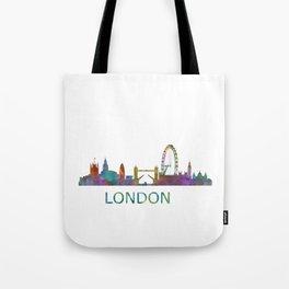 London UK Skyline HQ Tote Bag