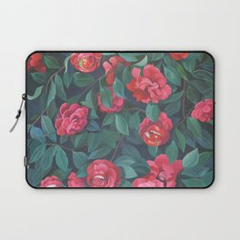 Camellias, lips and berries. Laptop Sleeve