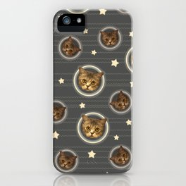 Planets of the Cats iPhone Case