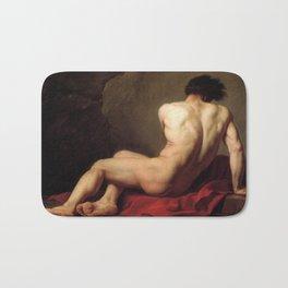 Patroclus by Jacques-Louis David Bath Mat